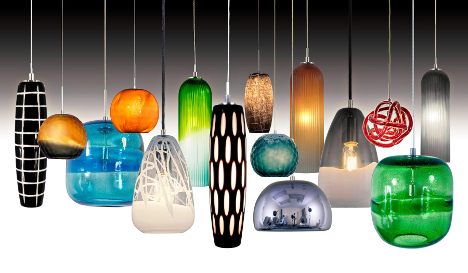 New handcrafted glass pendant collection from jesco lighting 20150706odintroscoenvisage vi handcraftedglasspendantcollectionfull new product introduction envisage vi mini glass pendant light mozeypictures Images