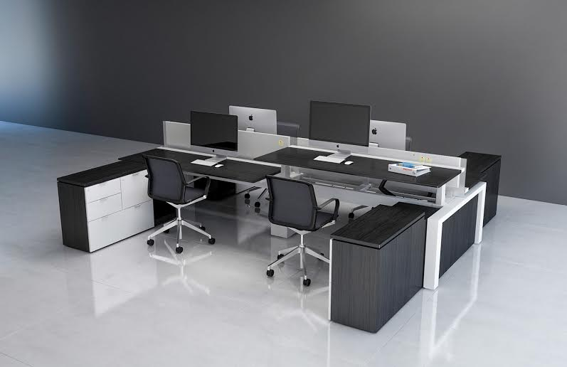 FORm_office Adjustable Height, One Of Innovantu0027s Desking Products On  Display In Architypeu0027s Showroom