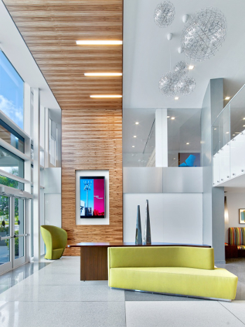 Lovely ... Recent IA Project SBA Communications Headquarters Relocation, Boca Raton