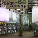 Solar lighting in the industrial setting: Parans Solar Lighting was installed at Algae to Omega, a company that produces, markets and distributes algae derived products.