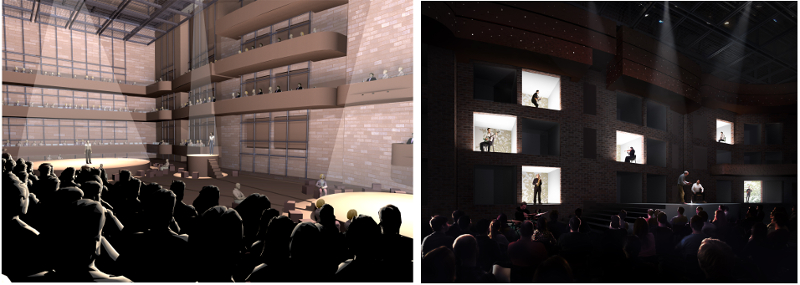 Arup.New Theatre Lucerne - Salle Modulable - 2
