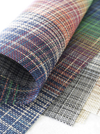 Chilewich Contract_fabric_plaid_wall_312