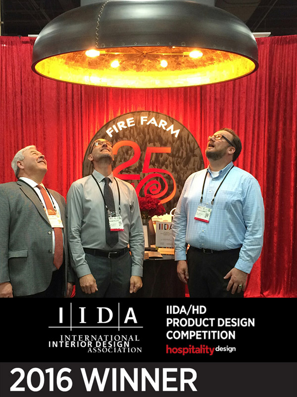 HDExpo 2016 Awards — Best of Competition & Best New Lighting - Belle by Fire Farm Lighting