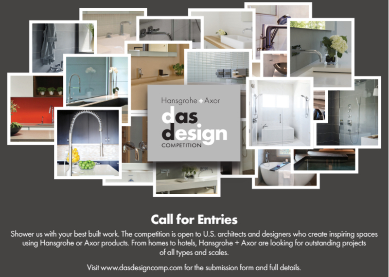 Now Open: Hansgrohe/Axor Das Design Competition   officeinsight