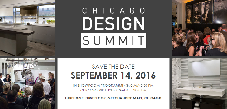 LuxeHome At The Merchandise Mart To Host Chicago Design Summit On