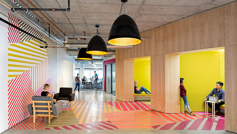 Yelp offices designed by O + A - Photo credit Jasper Sanidad