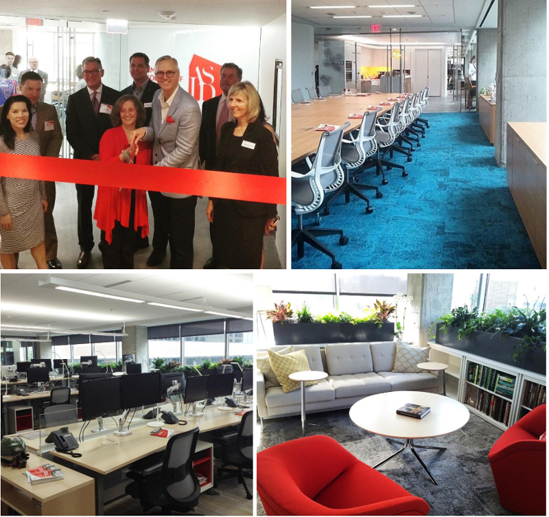 The American Society Of Interior Designers (ASID) Has Moved Into Their New  Corporate Headquarters In Downtown Washington, D.C. The Office Space, ...