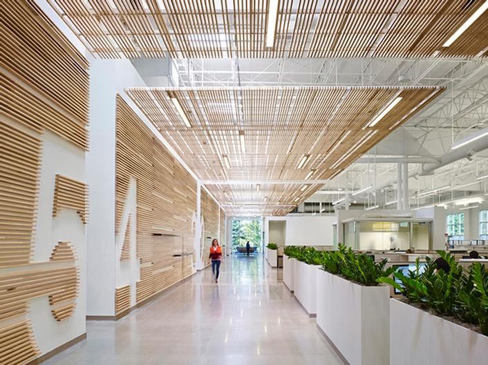 IIDA Interior Design Competition.Best of Competition.Newell Rubbermaid Design Center in Kalamazoo by Perkins+Will