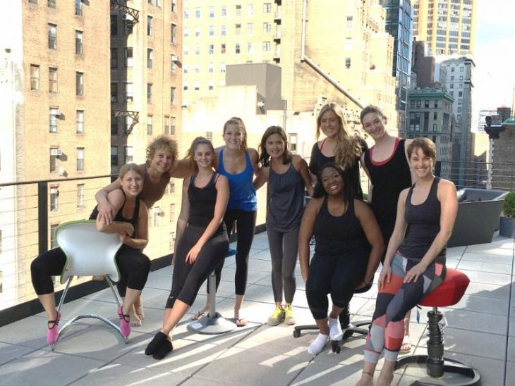 Roof Top Yoga with Via Motion Seating-4