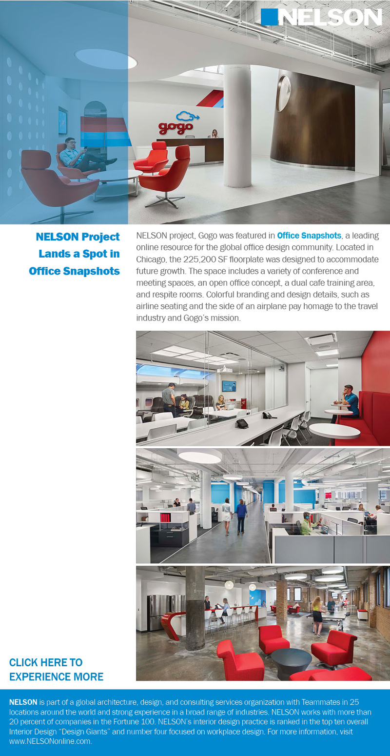 NELSON Project Lands a Spot in Office Snapshots