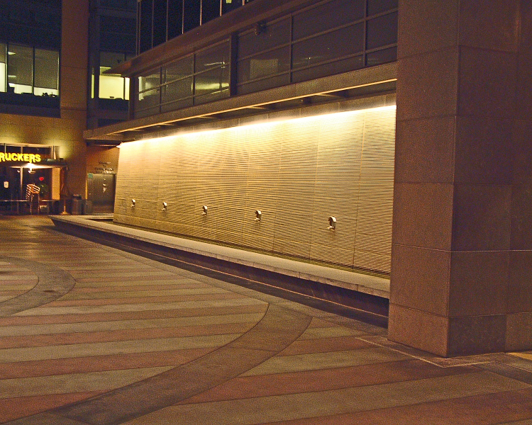 New product news from orgatech lighting officeinsight Exterior linear led lighting