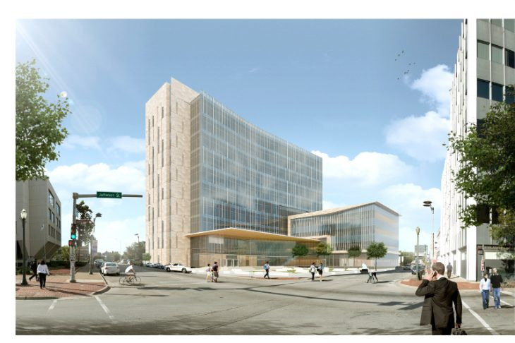 Rendering of Will County Justice Center_Wight & Company