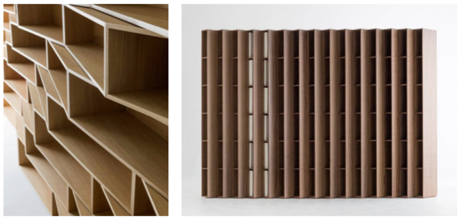 Channels' new 'Mr Knock' Bookcase I (detail); 'Mr Knock' Bookcase II