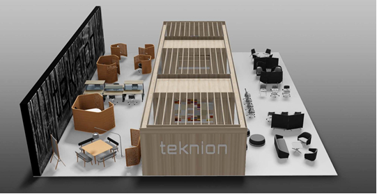 teknion celebrates international launch of new brands furniture collections at orgatec. Black Bedroom Furniture Sets. Home Design Ideas