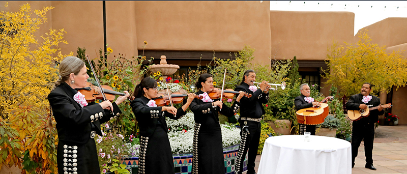 The mariachi band at the opening cocktail party. Photography courtesy of the Mohawk Group.