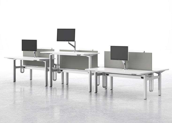National Office Furniture Introduces Alloy Benching officeinsight