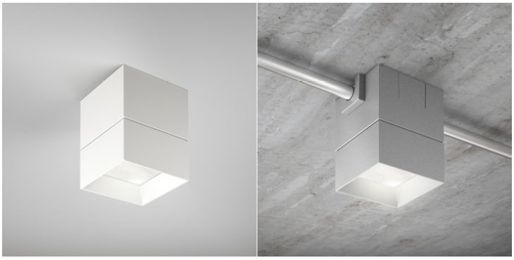 Beveled Block Elegant Solution For Industrial Exposed Ceiling Officeinsight