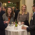 Monday night networking reception