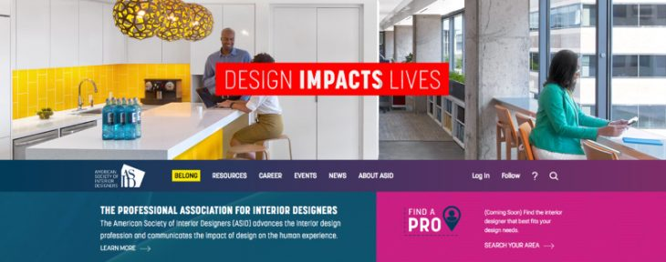 ASID Launches Redesigned and Enhanced Websites | officeinsight