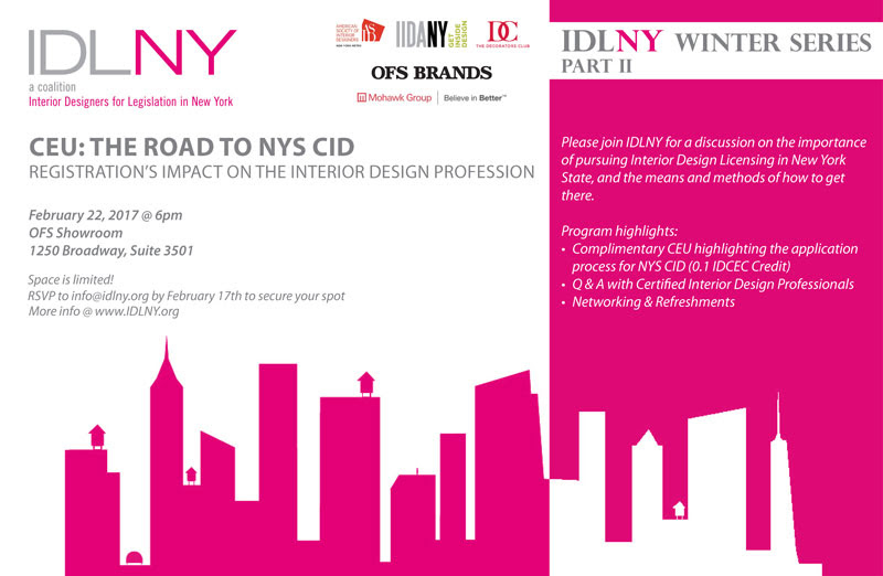 Join Us At The IDLNY Winter Series To Learn About Importance Of Becoming A NYS CID