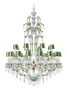 Preciosa euroluce hall 15 brera corso garibaldi 2 officeinsight the original opulence of the maria theresa chandelier is paired down for a new era the shape and silhouette of the chandelier are refined to match todays aloadofball Image collections