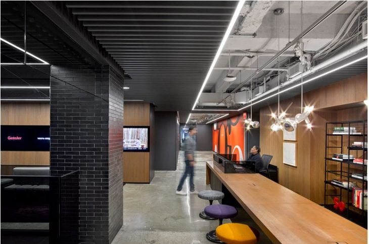 call for submissions nycxdesign awards nyc design ... Creative Office Winner u2013 Gensler New York Office by Gensler,  Photography by Garrett Rowland. Interior Design Magazine ...