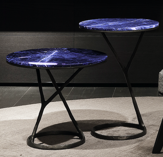 A Rustic Chic Side Table By Poliform Officeinsight