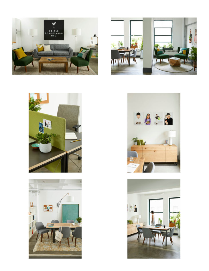 West Elm Outfitted Edible Schoolyard NYCu0027s New Brooklyn Office With  Contract Furniture From The Companyu0027s West Elm Workspace Brand.