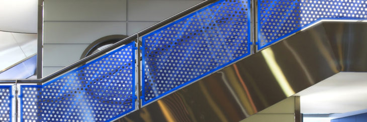 M 243 Z Introduces New Perforated Metal System Officeinsight