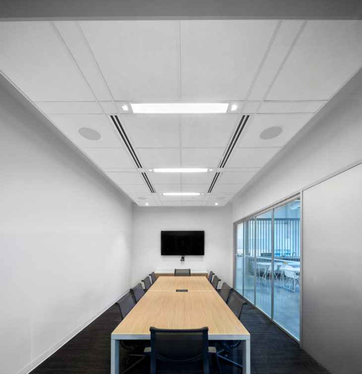 Acoustic Engineering Offices Choose Rockfon Ceiling Systems