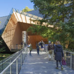 The Audain Art Museum in Whistler, British Columbia, by Patkau Architects, based in Vancouver. The private museum houses and exhibits Michael Audain's collection of British Columbian art. Photos: James Dow/Patkau Architects