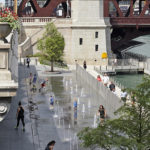 The Chicago Riverwalk, designed by Chicago's Ross Barney Architects. Photos: Kate Joyce Studios