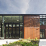 Mercer Island Fire Station 92, designed by the Miller Hull Partnership of Seattle. Photos: Lara Swimmer