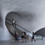 The Broad Museum in Los Angeles, lobby. Photo: Iwan Baan
