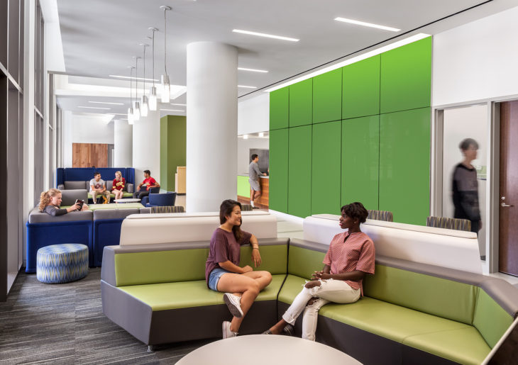 Tangram Interiors, A Provider Of Highly Creative Commercial Interior  Environments And Workspaces, Was Engaged To Provide Furniture For The  Massive USC ...