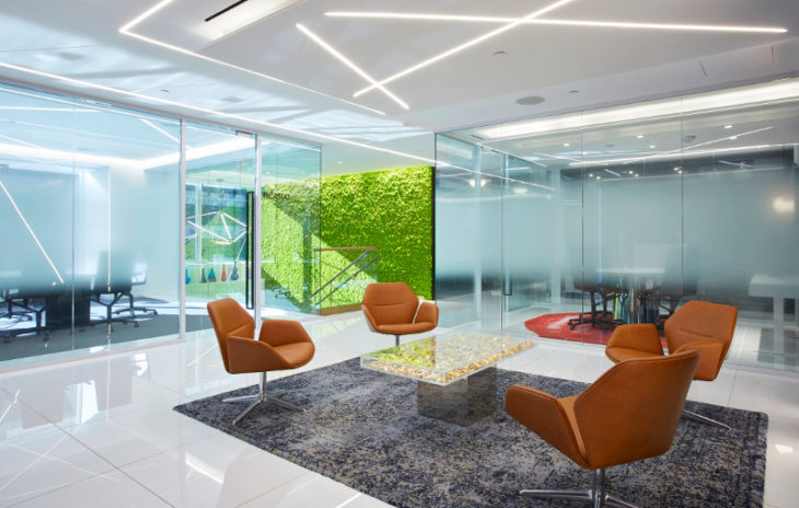 A design focus at nyc 39 s premier full service office suite for 1290 avenue of the americas sixth floor