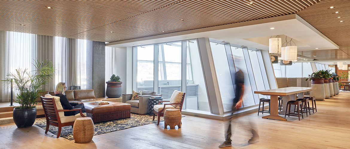 "SkB Architects ""Make Life One Long Weekend"" at Tommy Bahama HQ in Seattle"
