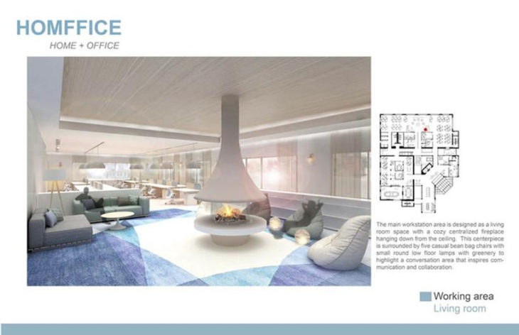 IIDA Student Design Competition First Place Winner Homffice By Nanmei  Jiang, Ara Kim, And Wan Ting Hsieh Of NYSID.
