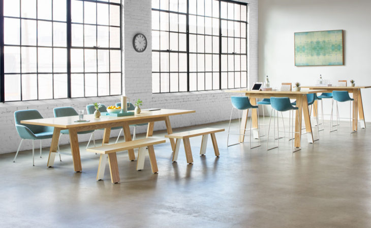 Swell Arcadia Introduces Delen Meeting Tables Designed To Ncnpc Chair Design For Home Ncnpcorg