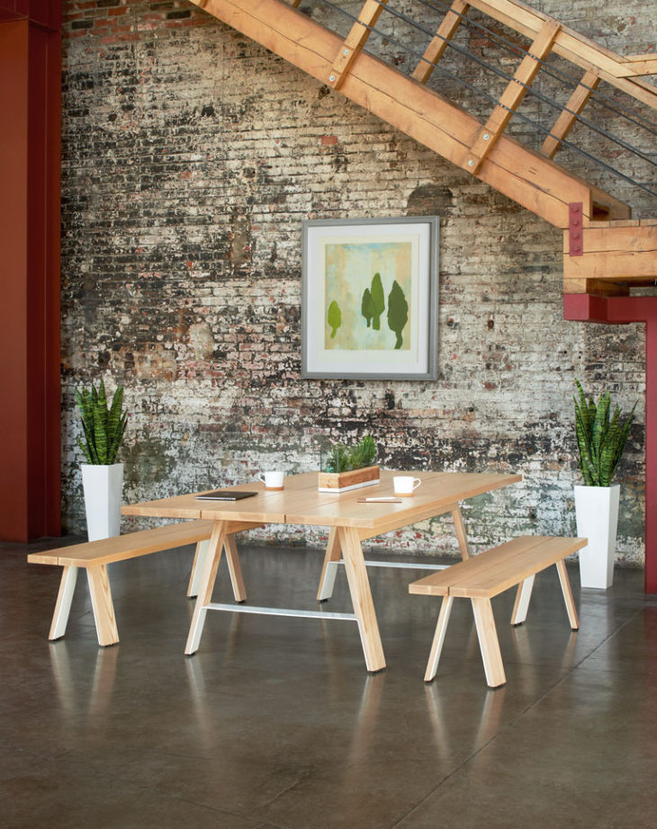 Miraculous Arcadia Introduces Delen Meeting Tables Designed To Ncnpc Chair Design For Home Ncnpcorg
