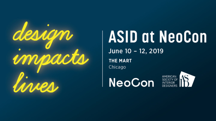 Asid Design Impacts Lives At Neocon 2019 Officeinsight