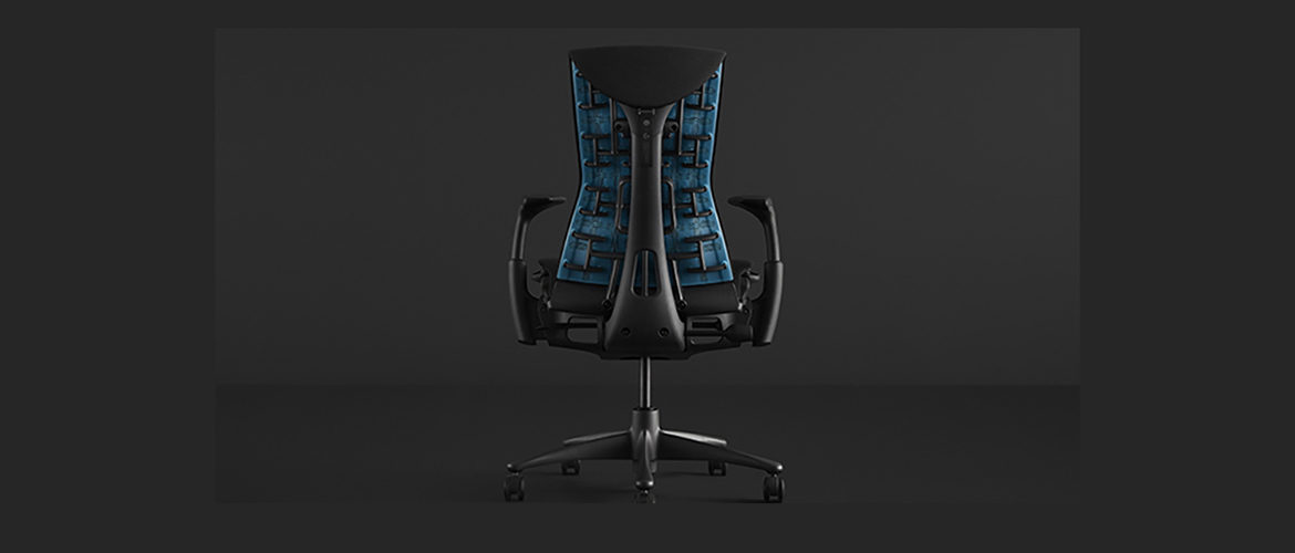 Herman Miller goes cyberpunk with its gaming chair Initiative